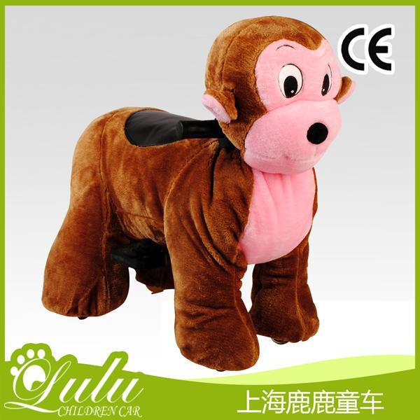 家用童车大型-猴子(长绒)