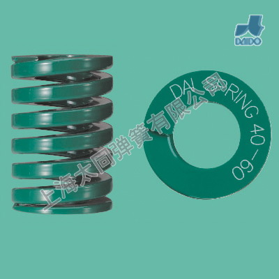 DAIDO  Heavy load springs DH40-60 , material of SWOSC-V , heavy load spring , small compression