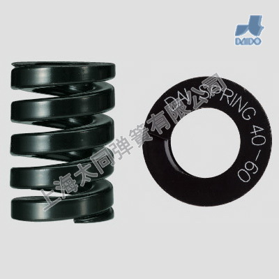 Black mold springs DK40-60, Material of SWOSC-V , Hyper Heavy load Spring , Smaller Compression