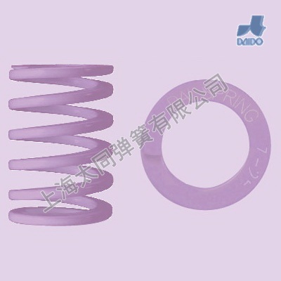 Purple mold springs DP39-60, Material of SWOSC-V , High Deflection Spring , Oversized Compression