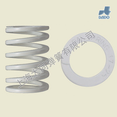 Ivory mold springs DR12.5-60 , Material of SWOSC-V , Hight Deflection Spring , Oversized Compression