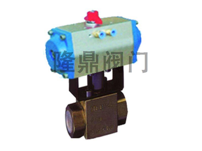 QGT型气动高压球阀