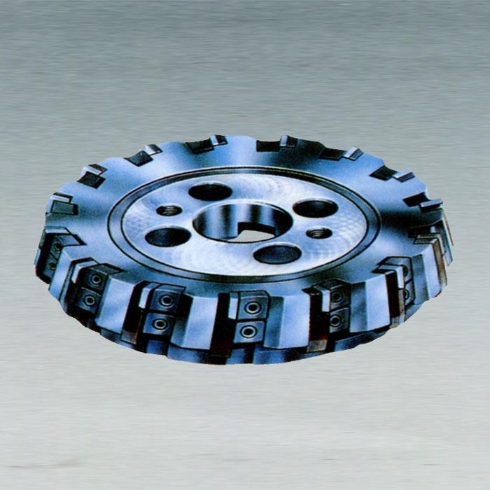 硬质合金可转位面铣刀kr75度