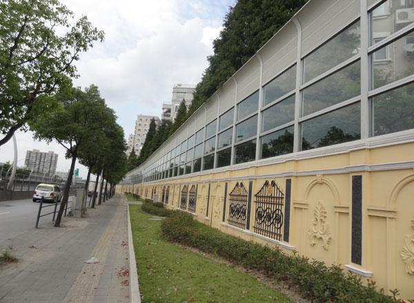 浦西中环线声屏障工程