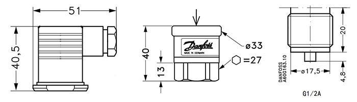 丹佛斯MBS3200压力变送器