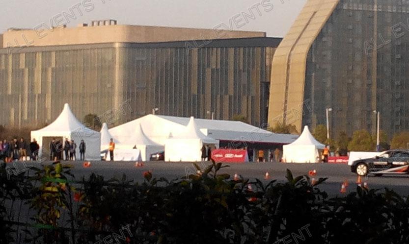 2013 杭州奥迪活动高端篷房租赁