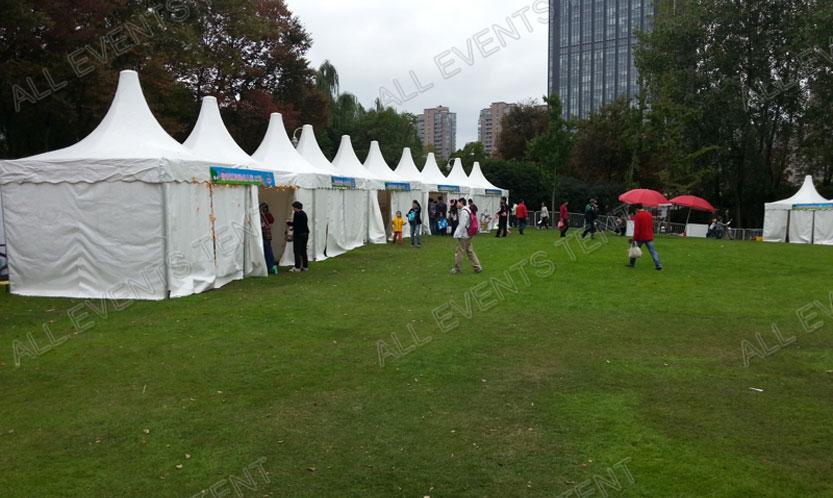 2013 虹桥公园亲子嘉年华尖顶篷房租赁,上海专业帐篷出租