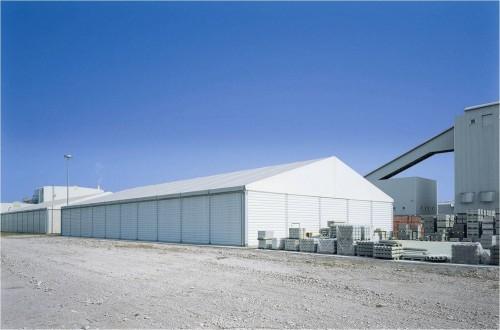 新型环保工业建筑——煤矿仓库篷房