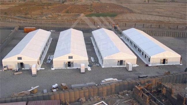 千平煤矿仓储空间,使用篷房一周便可完成