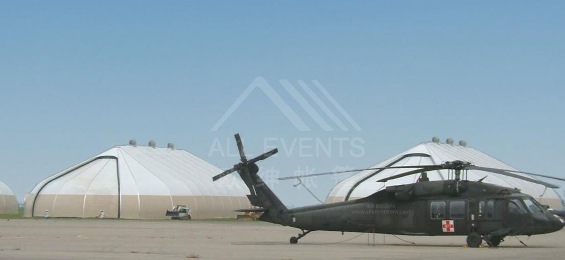 选择直升机机库篷房的五大理由