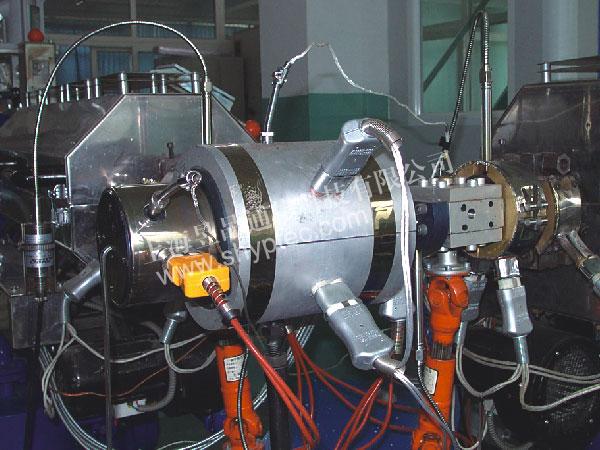 Экструзионная линия для производства оптического волокна  типа POF