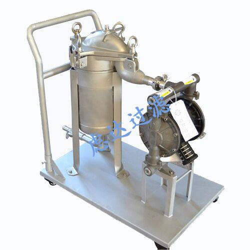 移动式袋式过滤器,可移动袋式过滤器组,小推车袋式过滤器