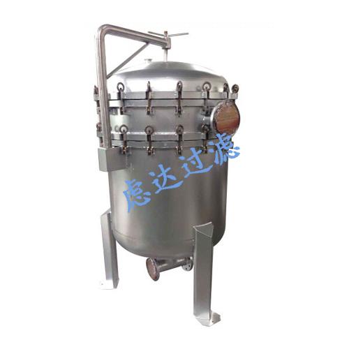 碳钢衬氟袋式过滤机