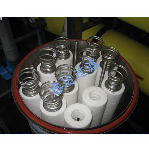 PP棉滤芯式过滤器