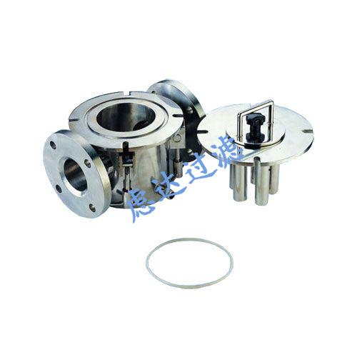 强磁除铁器,篮式磁性过滤器,不锈钢磁性除铁过滤器
