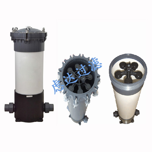 UPVC塑胶滤芯式过滤器