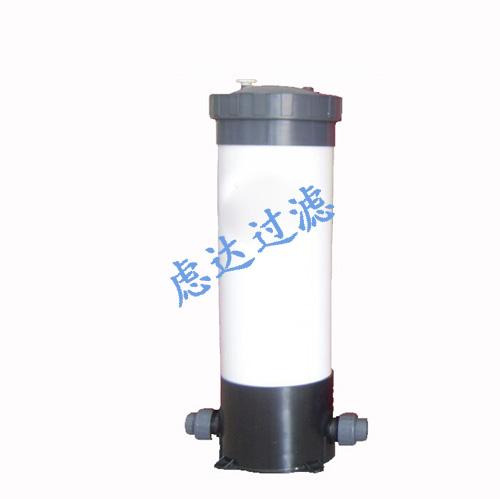 UPVC材质5/3芯式塑胶精密过滤器