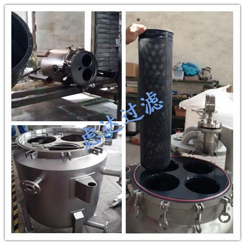 碳钢防腐袋式过滤器(衬PP/PO/PE/四氟)