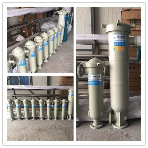 PP/PPR袋式过滤机,PPH塑胶袋式过滤器,PP过滤器上海虑达过滤厂家