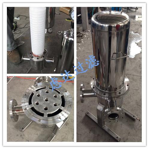 不锈钢筒式气体过滤器