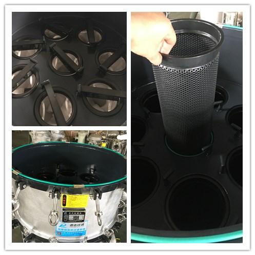 碳钢防腐衬/喷氟袋式过滤器