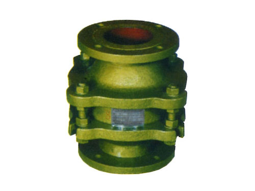 Zgb-1 corrugated flame arrester