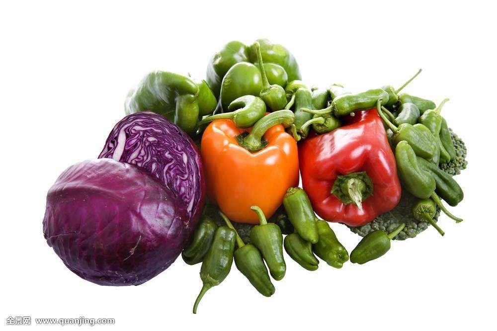 吃菜要『好色』 越深越营养