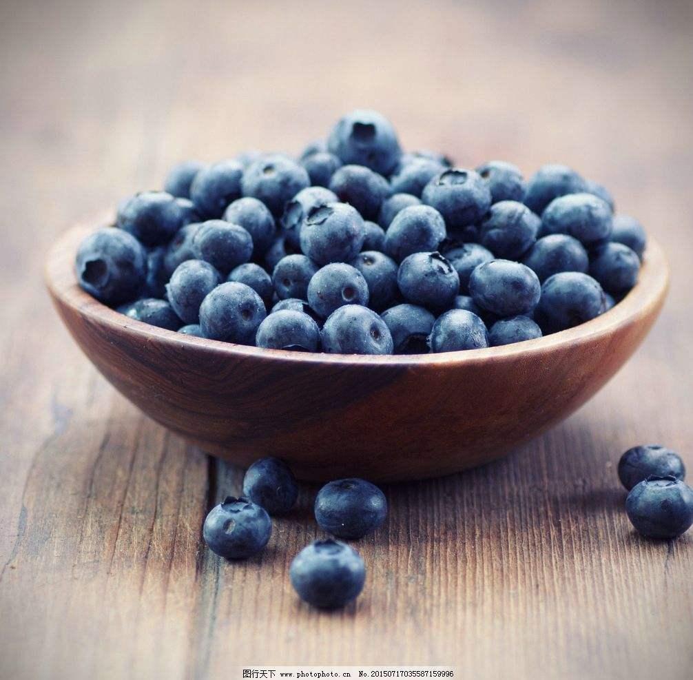 野生蓝莓抗氧化物含量更高