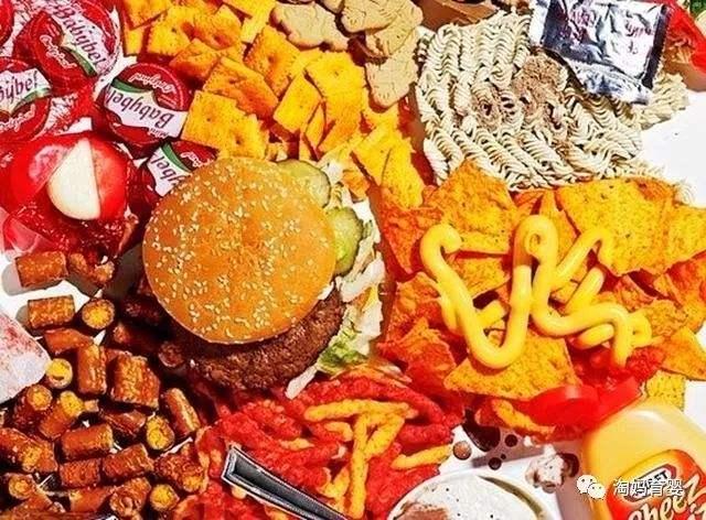 垃圾食品科学家确定垃圾食品与心理疾病的关联