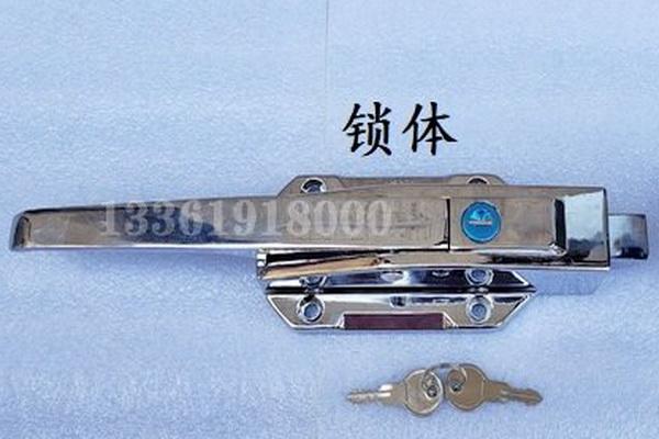 FA-602船用游艇密闭型带拉手安全库门锁,食品冷藏冰库锁,仓储锁(产品编号10220)