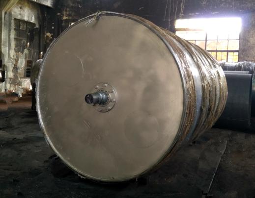 Φ2000x3000干燥热油烘筒